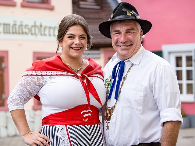 Zum alten Bauer: Stattfischfest Würdenträger